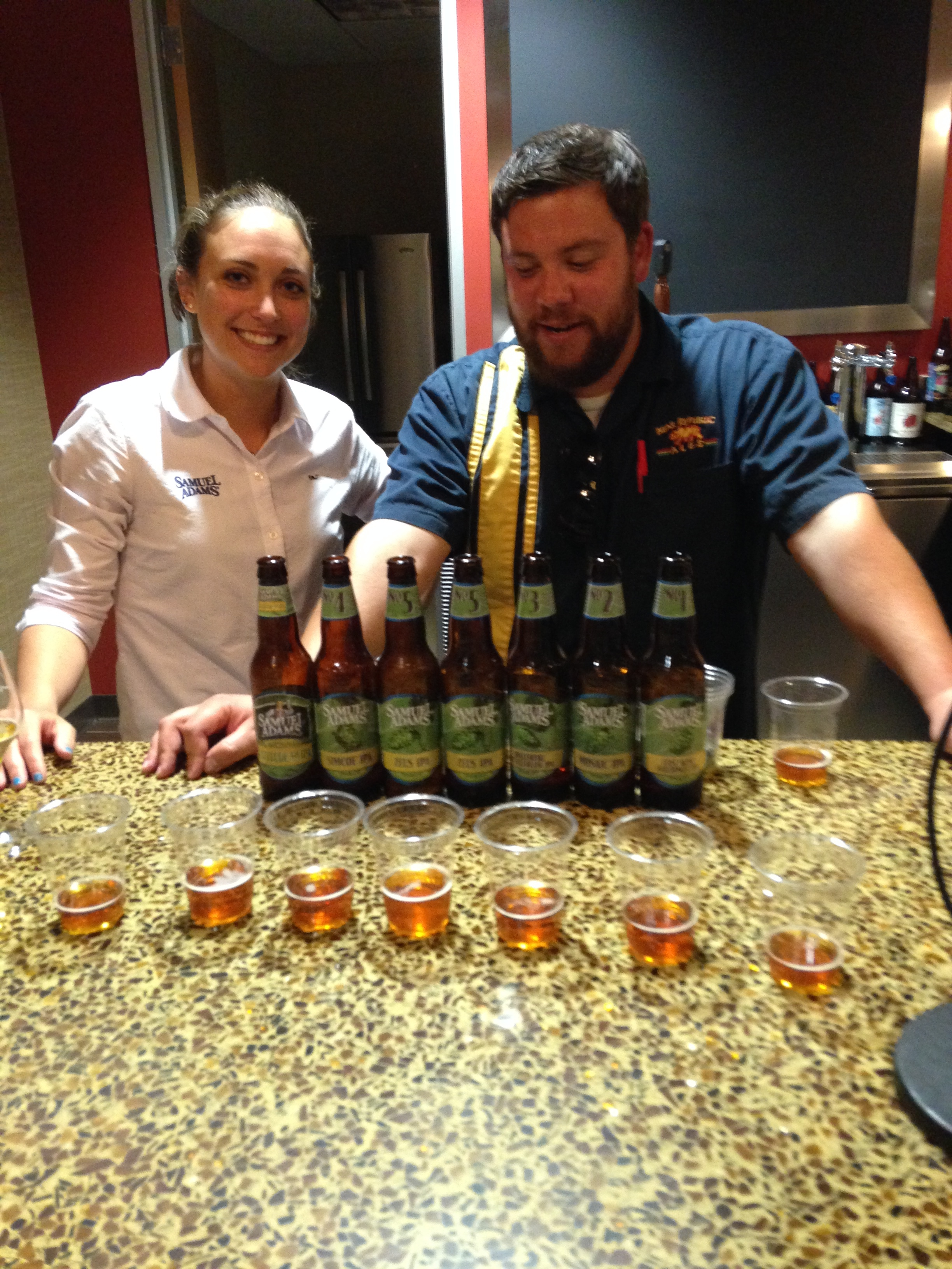 Lauren & Tony w Honey Queen & Latitude 48 Deconstructed IPA