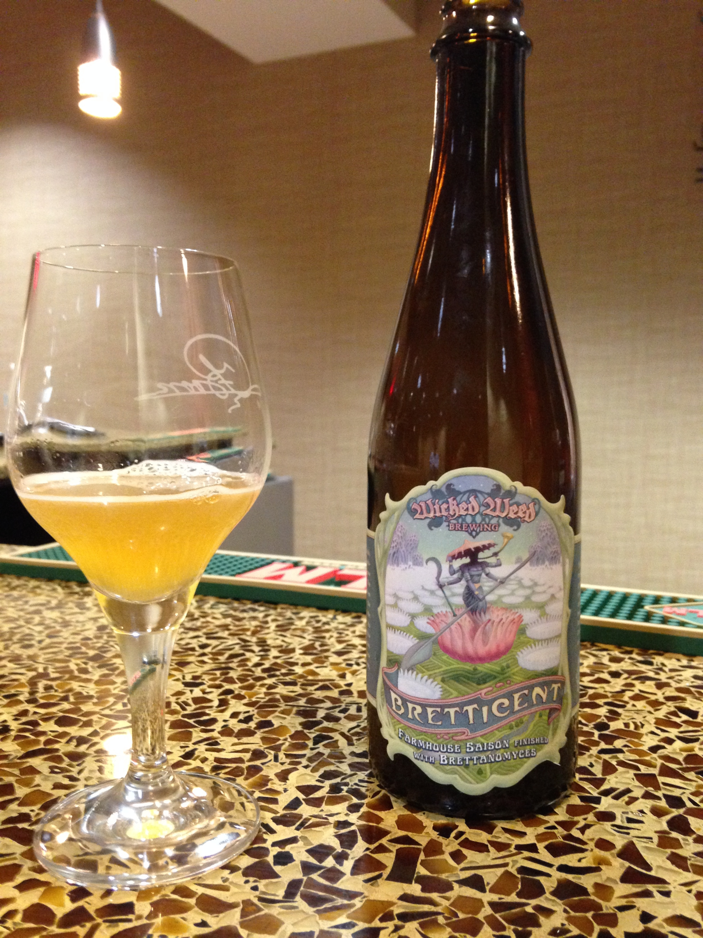 Bretticent Saison beer